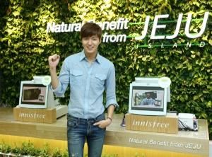 Lee Min Ho in Singapore for innisfree His beauty secret revealed B3